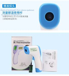 Handheld Infrared Forehead Thermometer Non Contact Digital Thermometer For Fever