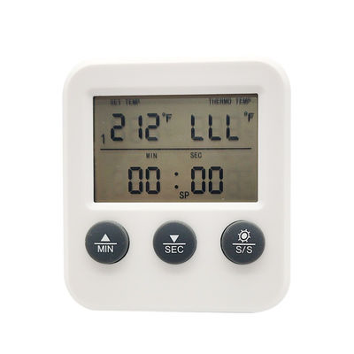 2.5mm reduced tip Probe LCD Display Instant Read Thermometer Cooking